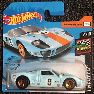 Hot Wheels: Ford GT40 Gulf (HW Race Day) Short card