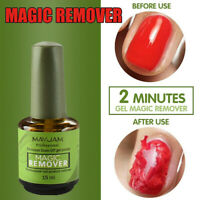Newly Burst Magic Remove Gel Nail Polish Soak off Acrylic Clean Degreaser 15ml