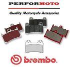 Brembo Carbon Ceramic Front Brake Pads Husqvarna 610 SM 98-99