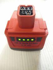 1 Batterie d'origine hilti 14,4 v en 2,6Ah TBE ( batteria , battery , akku)