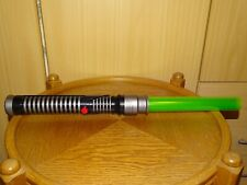 Hasbro Star Wars Electronic Jedi Lightsaber green 2002 lose