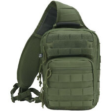 Brandit US Cooper Sling Pack One Strap Backpack Everyday Carry Bag Outdoor Olive