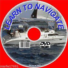 Informazioni per la navigazione marittima, radar, grafici corsi spiegati maree VENTI + + DVD NUOVO