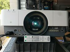 SONY VPL-FH500 WUXGA PROJECTOR w/ VPLL-Z4015 LENS Only 225 Hours
