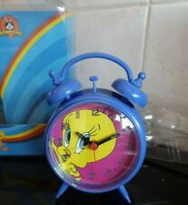 Vintage Zeon WB Looney Tunes TWEETY Freestanding Alarm Clock - NEW & BOXED