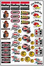 1/64, 1/87 - DECALS FOR HOT WHEELS, MATCHBOX, SLOT CAR: GASSER (IV)