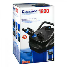 Cascade 150 Gal Canister Filter 1200 Crystal Clear Water Fresh & Marine