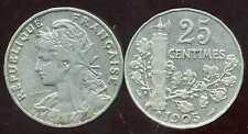 25 centimes 1905  PATEY   ( bis )