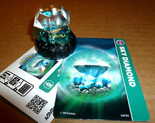 Skylanders Swap Force SKY DIAMOND Card Sticker Web Code Tower Of Time