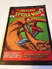 AMAZING SPIDER-MAN COLLECTIBLE SERIES VOLUME 9 REPRINTS ISSUE 4 SANDMAN LEE DITK