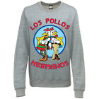 BREAKING BAD MUJER Los Pollos Hermanos Restaurant Estampado Jersey Sudadera