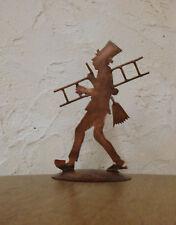 Figur KAMINFEGER Schornsteinfeger Tischfigur  Kupfer Kupferfigur handgefertigt