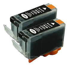 2 New PGI-5 Ink w/ CHIP for Canon PGI5BK Pixma MX850 MP810 MP830 MP960 MP970