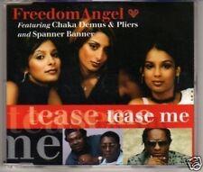 (J39) Freedom Angel, Tease Me - DJ CD