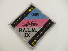 Vintage Patch PALM IX 1990 Cycling Bicycle Bike