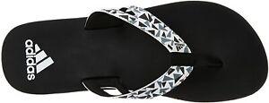 Adidas Men's Ozor Ms Black, White and Visgre Flip-Flops - Various Sizes