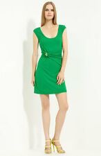 $1450 ROBERTO CAVALLI JERSEY SHEATH DRESS SIZE 42 IT / 6 US
