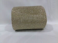 9 mtr lace border tirm Golden designer lace with rexin fabric as base, 9.5cm wd