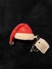 Bath & Body Works Christmas SANTA HAT Jingle Bell Pocket Sanitizer Bottle Holder