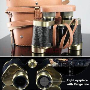 Binoculars Telescope Copper Rangefinder HD Night Vision Metal Monocular Supplies