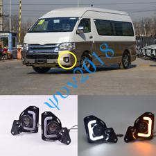 For Toyota Hiace 2014-2016 LED DRL Daytime Running Lights Fog/Driving Lamp Kits