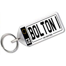 "NUMBER PLATE KEYRING FOR FOOTBALL FANS "" BOLTON 1 """