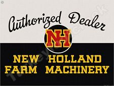 NEW HOLLAND FARM MACHINERY AUTHORIZED DEALER 9