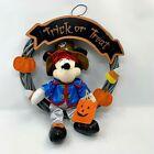 Disney Mickey Mouse Halloween Wreath Door Decor Trick or Treat Pirate 13