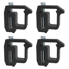 Set Of 4 Mounting Clamps Truck Caps Camper Shell Powder Coated For Chevy Dodge Fits Tacoma
