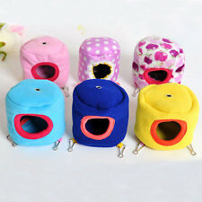 Hot Sale Cute Hamster Hanging Cage Hammock with Bed Mat for Small Furry Animals