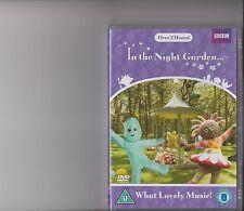 IN THE NIGHT GARDEN WHAT LOVELY MUSIC DVD KIDS 5 EPISODES