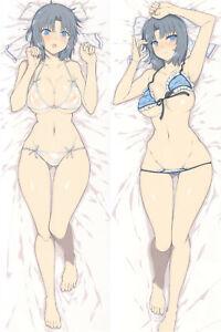 NEW Yumi Senran Kagura Dakimakura Hugging Sexy Body Pillowcase Cover 150x50CM