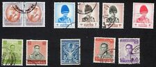 Thailand: Small selection of fine used stamps; royalty
