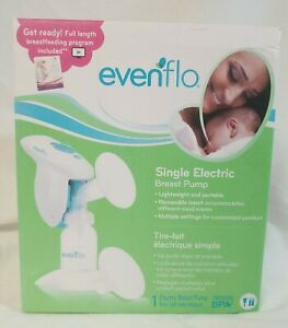 Evenflo Single Electric Breast Pump Lightweight Portable New