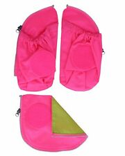 ergobag Safety Zip-Set 3-teilig Zubehör Tasche Pink Pink Neu