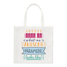 This Is What An Awesome Paramedic Looks Like Regular Tote Bag Funny Best