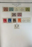 Vatican Clean All-Mint Stamp Collection