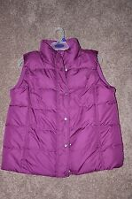 Ladies Fully Lined Faded Glory Coat Vest - Size L (12 - 14)