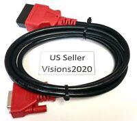 6FT Snap On Scanner DA-4 Compatible OBDII OBD2 Data Cable For ETHOS EDGE EESC332