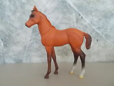 "Vintage 7"" Bay Blue Ribbon Ranch Horse Foal"