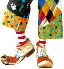 Clown Schuhe Lumpi aus Latex NEU - Zubehör Accessoire Karneval Fasching