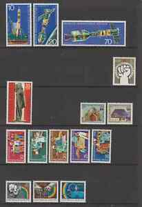 EAST GERMANY 1975 MNH Issues