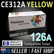 1x CE312A 126A YELLOW Toner Cartridge for HP Color LaserJet CP1025 CP1025NW