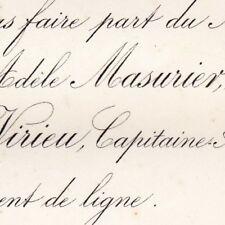 Adele Marguerite Masurier Le Havre 1876 Raoul De Virieu