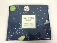 Outer Space Twin Sheet Set 3 Piece By Jack & Jemma Rockets Planets New