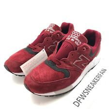 New Balance Made in USA M999CMR Men's 7.5 Sneakers Burgundy Grey Shoes New