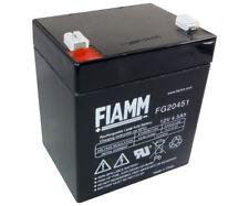 FIAMM FG20451 12V 4,5 Ah Bleiakku Blei Gel Akku 20451 FGH20501 FGH20502 12LH-30W