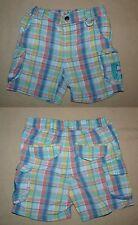 Short bermuda de plage à carreaux multicolore bébé fille ou garçon 12 mois DPAM