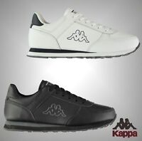 Mens Kappa Stylish Pesaro DLX Trainers Lace Up Sports Footwear Sizes UK 7-12