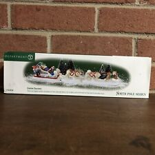 Nib Dept 56 Canine Couriers North Pole Series Heritage Village Collection